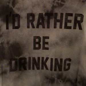 Buckle Tops - The Buckle Chillionaire Rather Be Drinking T-Shirt